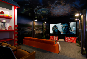 The Drive-In Home Theater Theme
