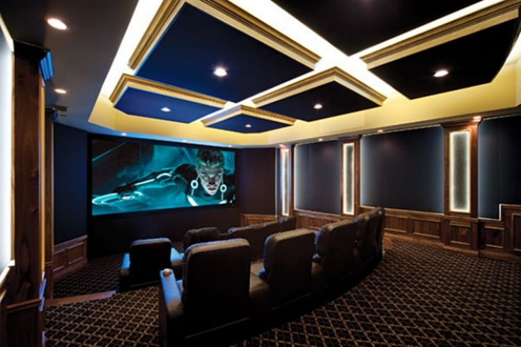 Ultra-Modern Home Theater Theme