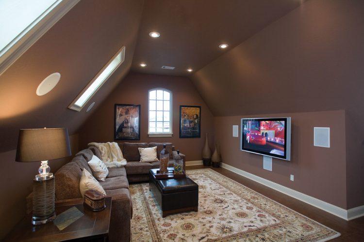 Our private loungebonus room ideas