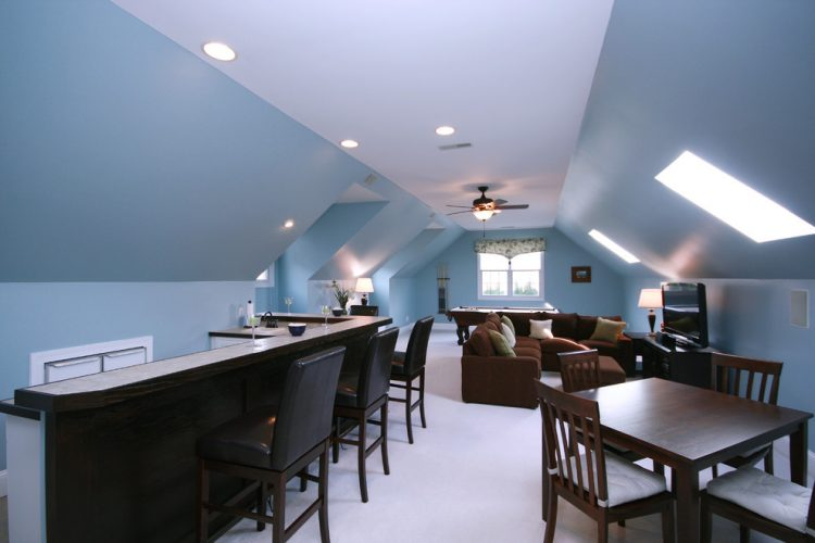 cafe style bonus room ideas