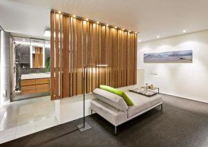 contemporary bathroom divider