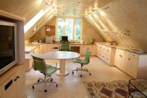 contemporary home office bonus room ideas