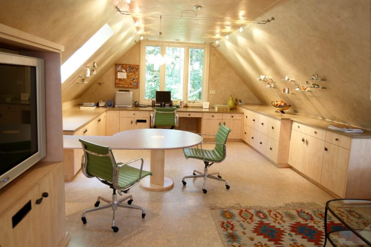 The bonus kitchen and contemporary home office bonus room ideas