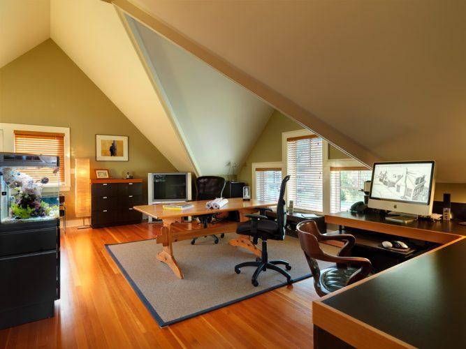 cozy home office bonus room ideas