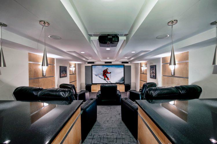 The cinema at homebonus room ideas