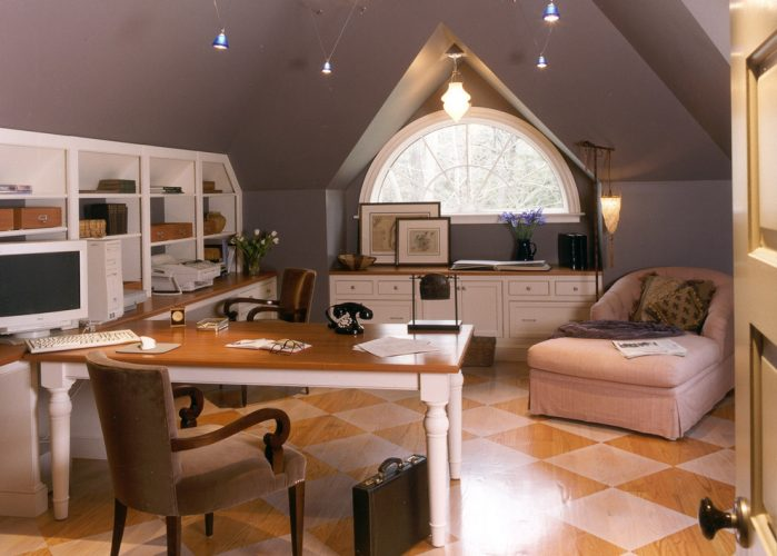 The writer's paradise, home office bonus room ideas