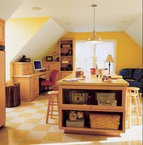mini home office bonus room ideas