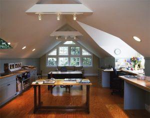modern home office bonus room ideas