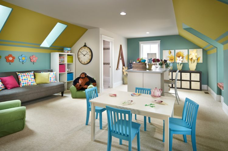 The kindergarten of childrenbonus room ideas
