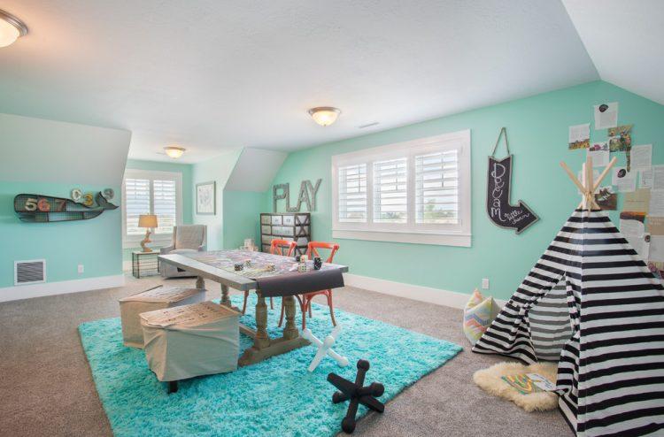 play zone bonus room ideas with beach style