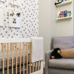 Triangle pattern kids bedroom 1