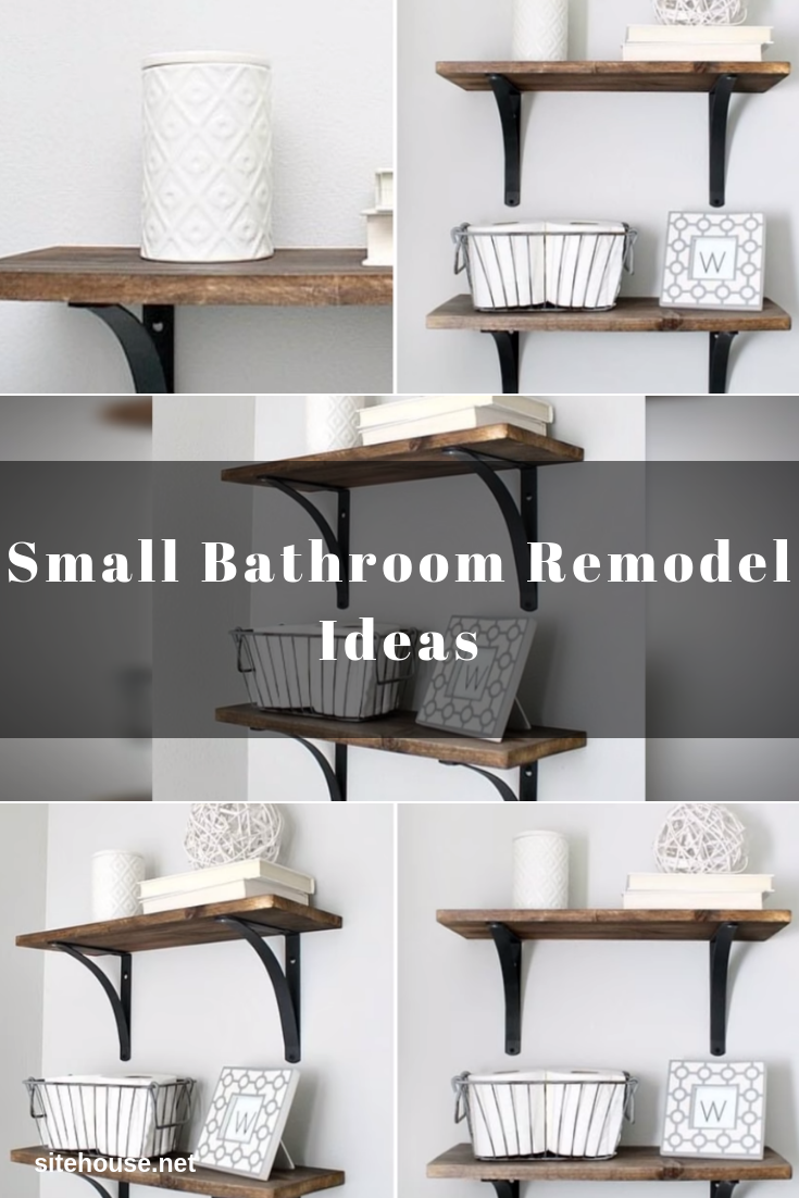 Bathroom Shelves for Small Bathroom Remodel