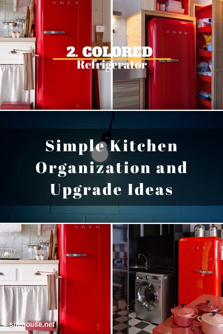 Colored Refrigerator