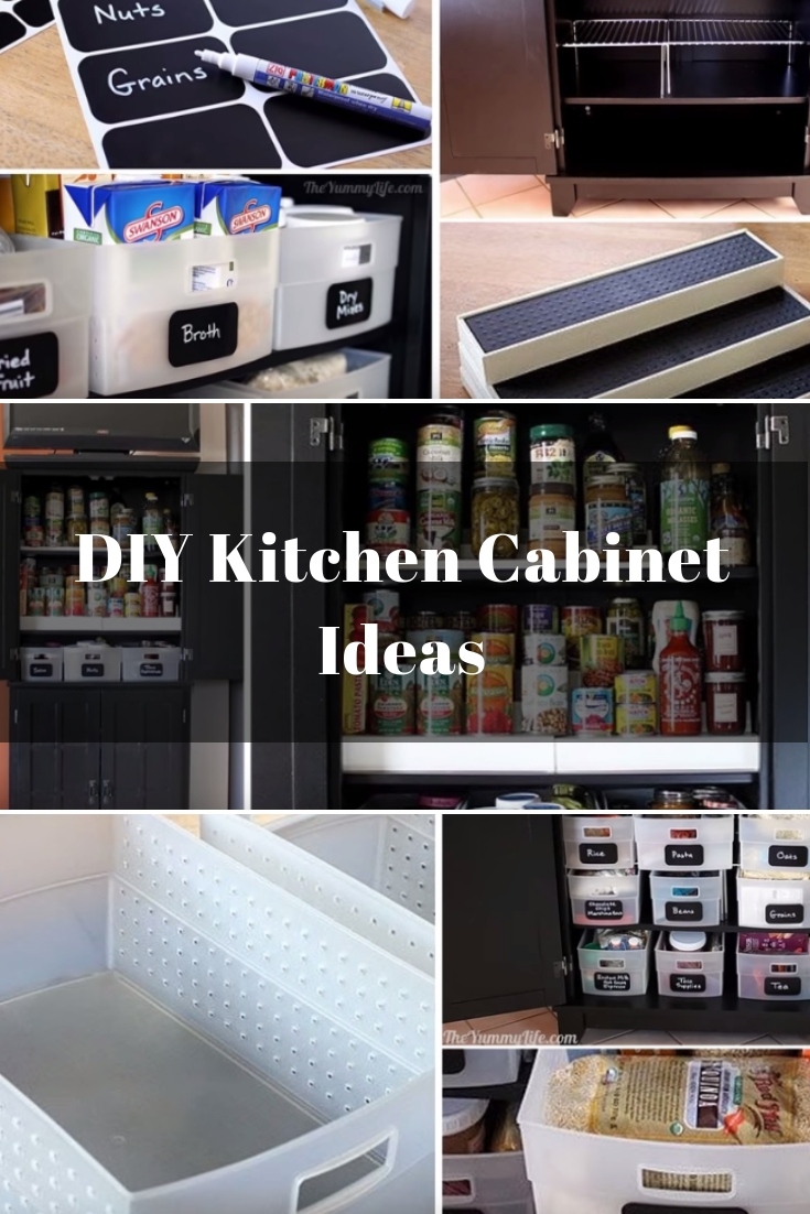 10 Kitchen And Home Decor Items Every 20 Something Needs: 10 DIY Kitchen Cabinet Ideas That Will Keep Your Supplies