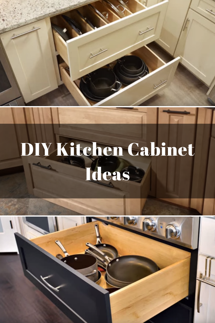 Dividers for more Efficient Pots and Pans organization