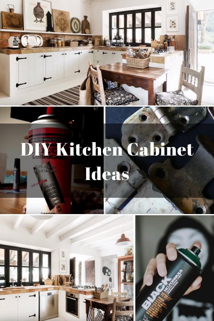 DIY Kitchen Cabinet Ideas