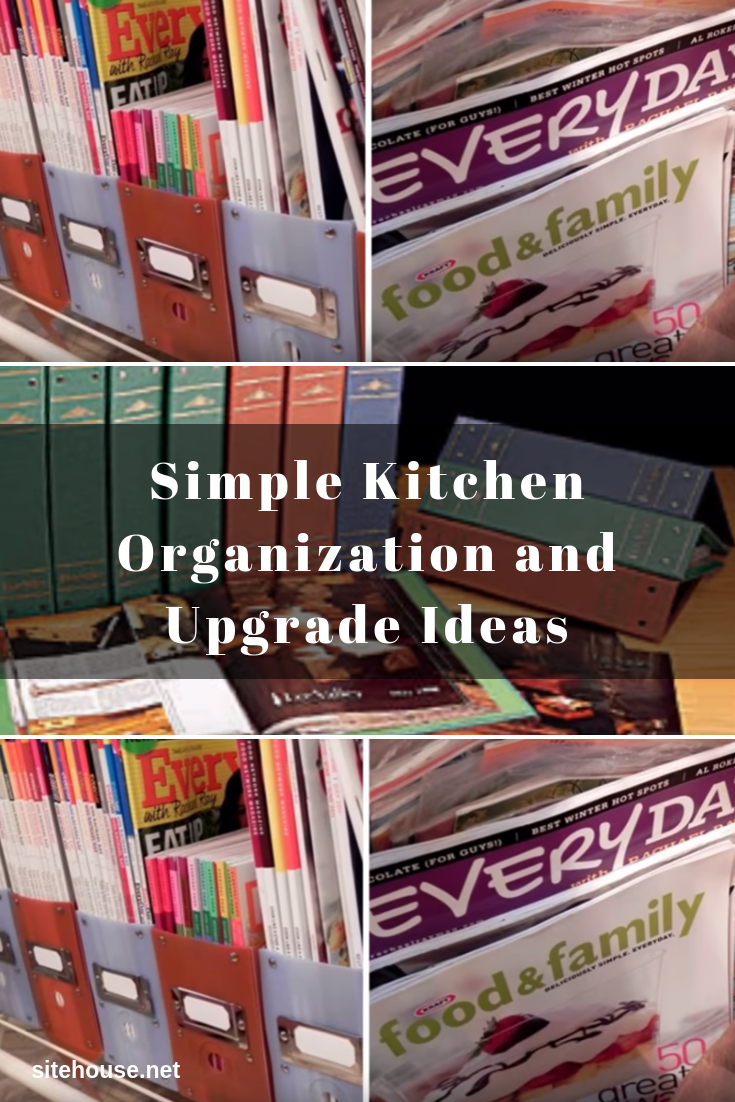 How to Organize Cooking Magazines?
