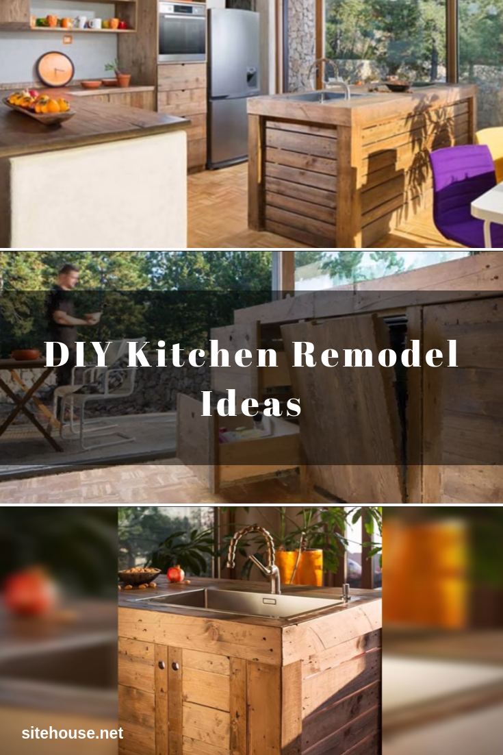 Kitchen Remodel with Pallets