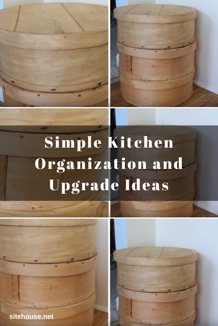 Rustic Storage Boxes