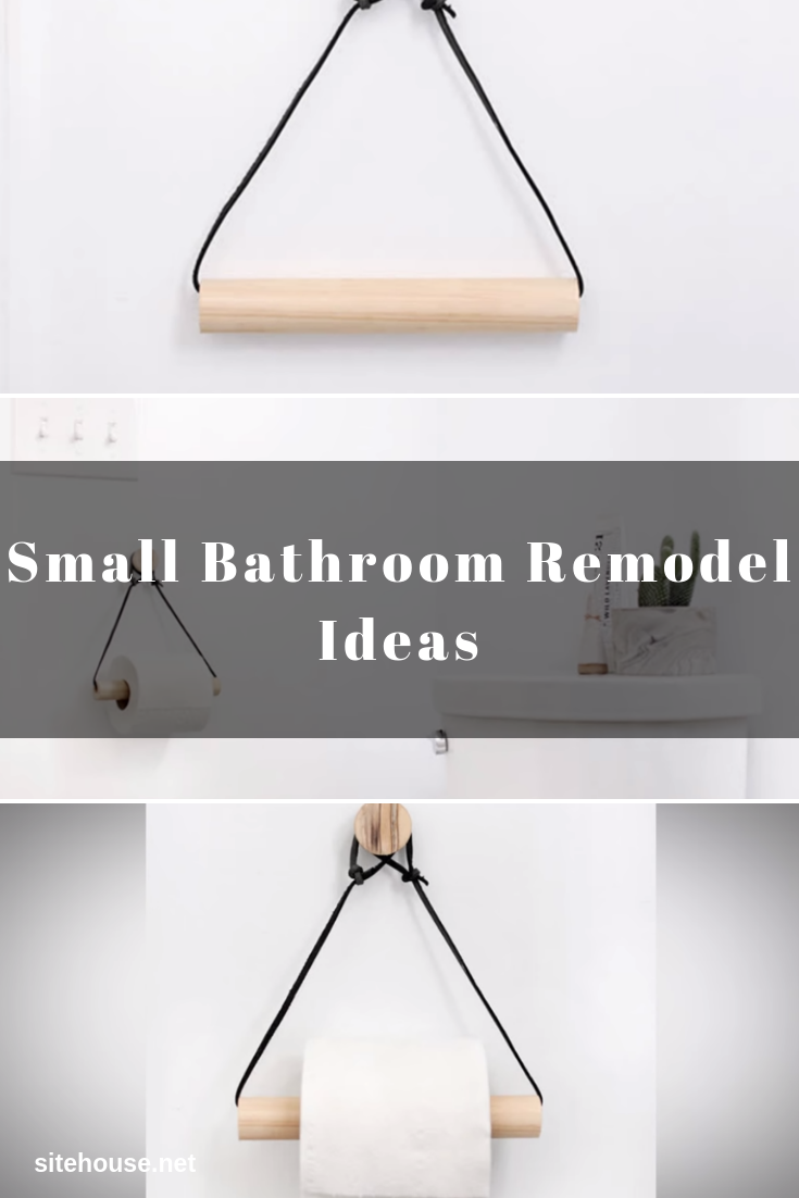 Toilet Paper Holder for Small Bathroom Remodel Ideas