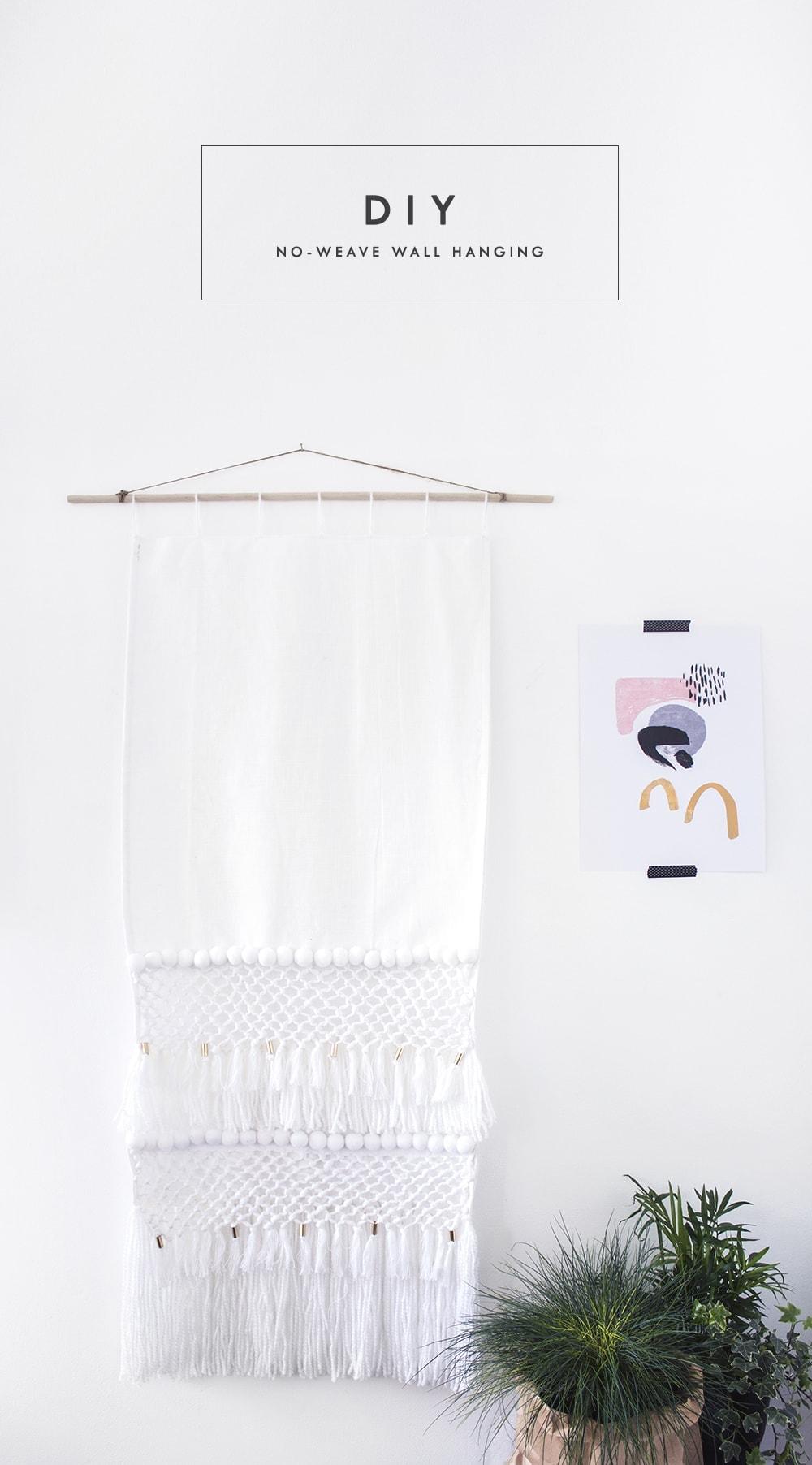 H&M Hack; Wall Hanging DIY for Vintage Decor Ideas