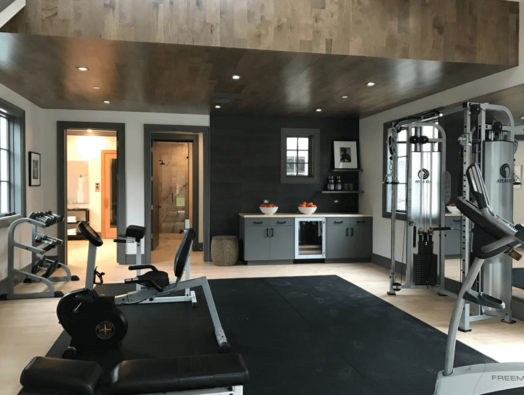 Work on your goals in your own home gym.