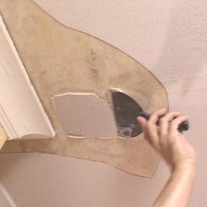How to Repair Plaster Ceiling Step by Step